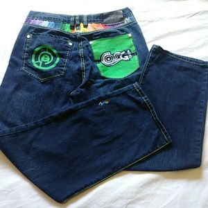 COOGI Jeans 🌈 Relaxed Fit Wide Leg 36 x 34